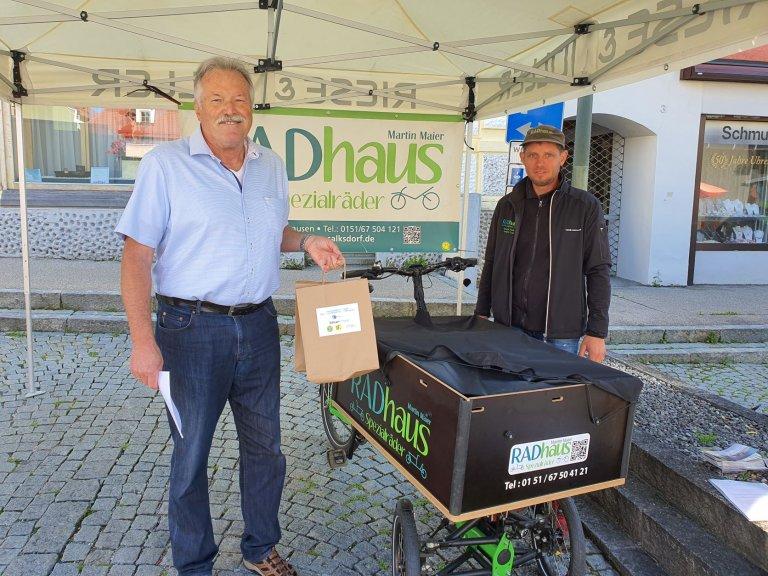 3_Bürgermeister_Johann_Staudinger_Martin_Maier_RADhaus1